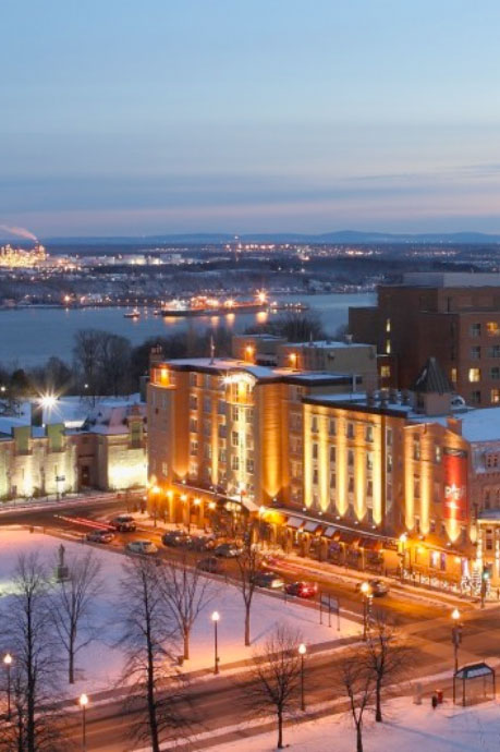 Le coffre aux trésors d'Hôtel Château Laurier Québec