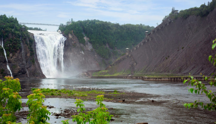 7 amazing facts about Montmorency Falls - Hotel Chateau