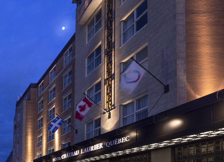 Une salle de l'Hôtel Château Laurier Québec